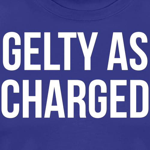 Gelty as Charged - Men's Premium T-Shirt