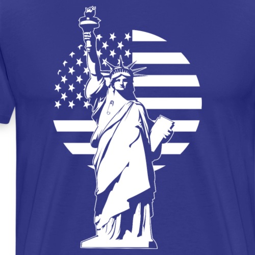 Lady Liberty Safety Pin - Men's Premium T-Shirt