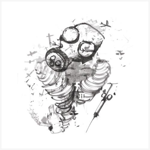 Danger Original Mono - Men's Premium T-Shirt