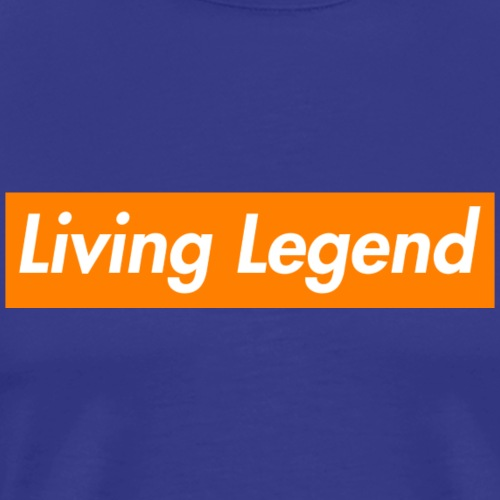 Supreme Legend (Orange) - Men's Premium T-Shirt