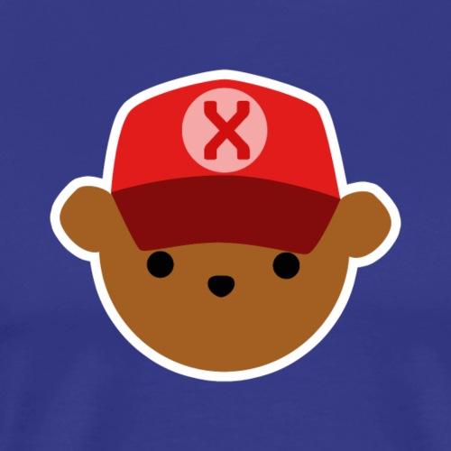 ABC Bear Letter X - Men's Premium T-Shirt