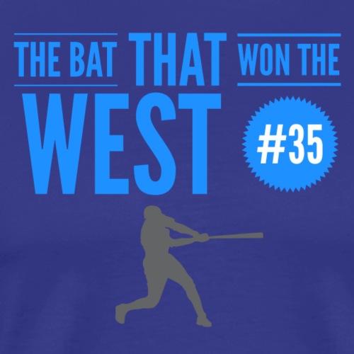 The Bat That Won The West #35 - Men's Premium T-Shirt