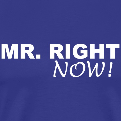 mrrightnow1 - Men's Premium T-Shirt