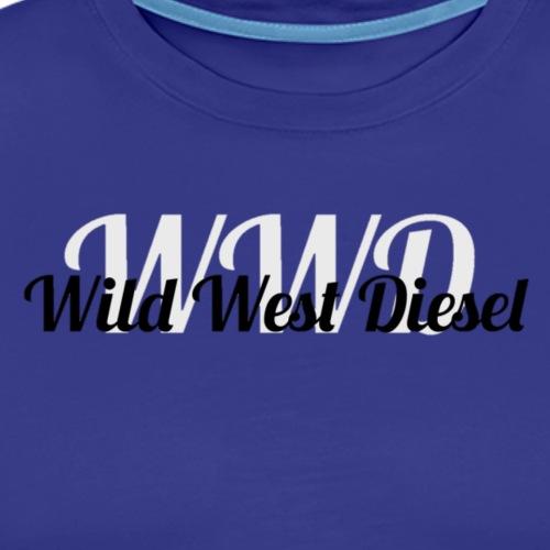 wild west diesel - Men's Premium T-Shirt