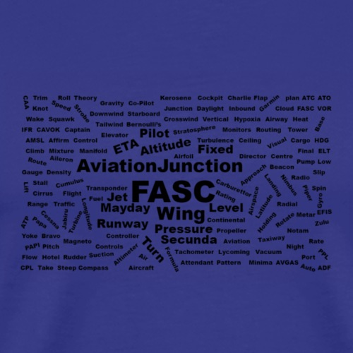 AJSF Word Cloud - Men's Premium T-Shirt