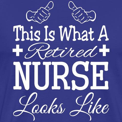 Retired Nurse T-Shirt - Men's Premium T-Shirt