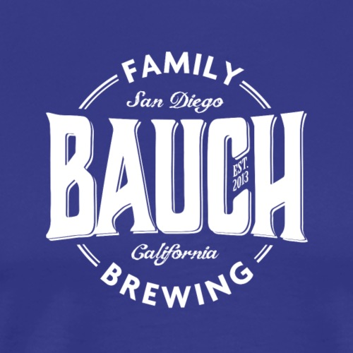 bauch family brewing white - Men's Premium T-Shirt