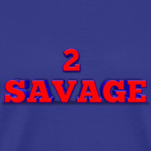 2 savage merch - Men's Premium T-Shirt