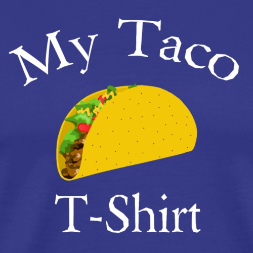 The Taco T-Shirt - Men's Premium T-Shirt
