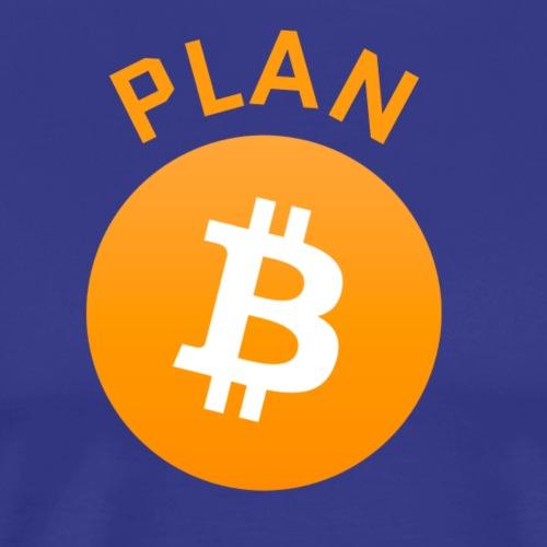 Plan B - Bitcoin - Men's Premium T-Shirt