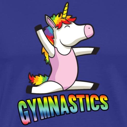 Gymnastics Unicorn - Men's Premium T-Shirt