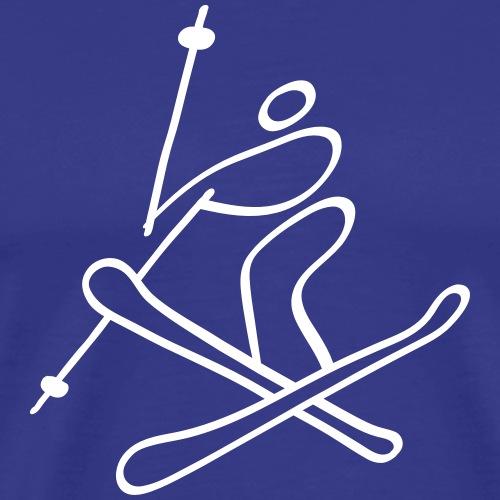 Extreme Freestyle Skiing - Men's Premium T-Shirt