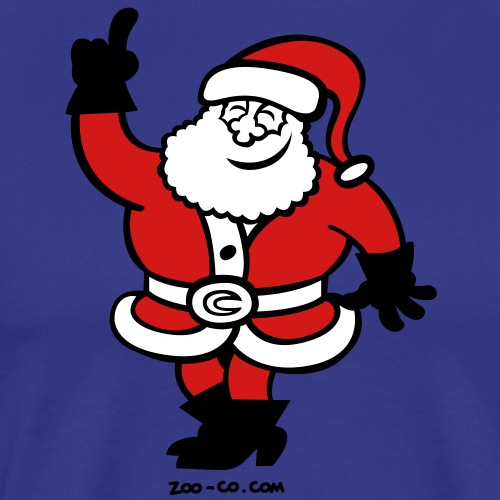 Santa Claus Celebrating - Men's Premium T-Shirt