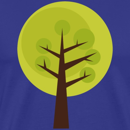 Tree Clipart - Men's Premium T-Shirt