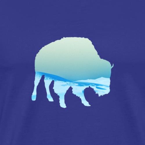 Bufalo Blue - Men's Premium T-Shirt