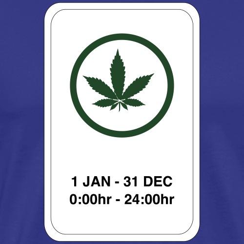 It's legal now....24/7 - Men's Premium T-Shirt