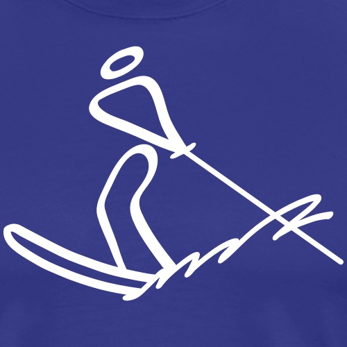 Extreme Waterskiing - Men's Premium T-Shirt