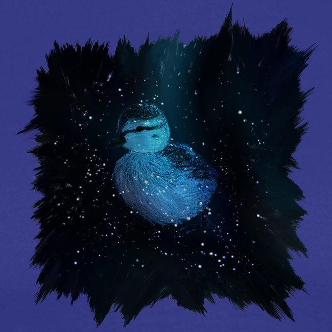 Galaxy Duckling in Space