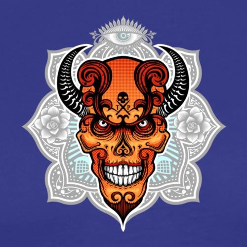 Poppy, Demon skull from South of Heaven - Men's Premium T-Shirt