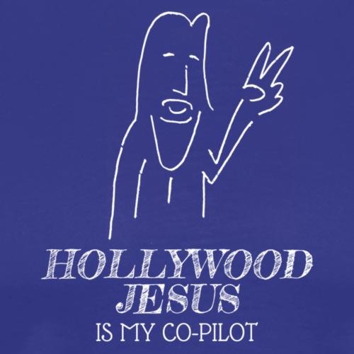 Hollywood Jesus Vertical (Light) - Men's Premium T-Shirt