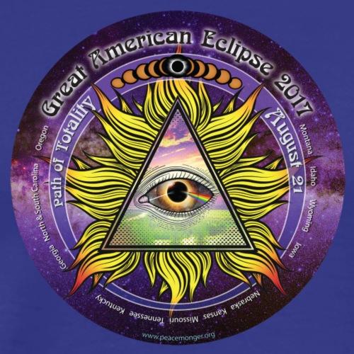 All Seeing Eye Great American Eclipse 2017 Shirt - Men's Premium T-Shirt