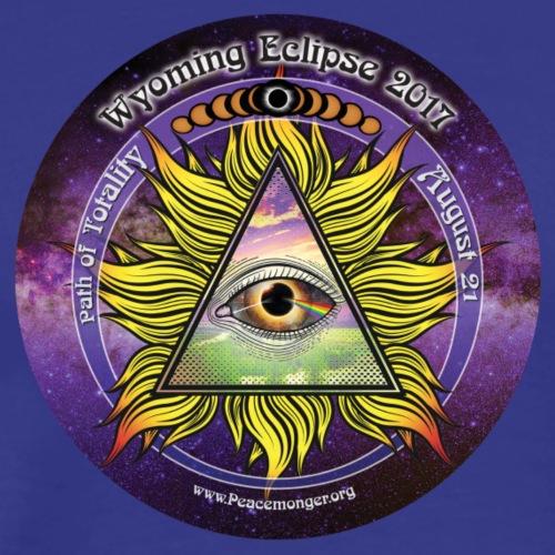All Seeing Eye Great Wyoming Eclipse 2017 Shirt - Men's Premium T-Shirt