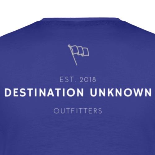 Destination Unknown Flag Logo - Men's Premium T-Shirt