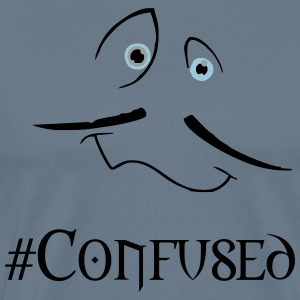 confused - Men's Premium T-Shirt