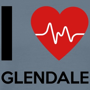 I Love Glendale - Men's Premium T-Shirt