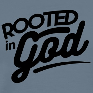 Rooted in God - Men's Premium T-Shirt