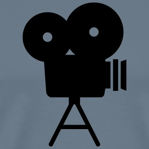 movie camera - Men's Premium T-Shirt