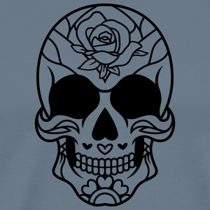 Mexican Sugar Skull 11 - Men's Premium T-Shirt