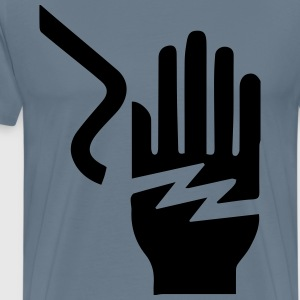 Electrical Hazard - Men's Premium T-Shirt
