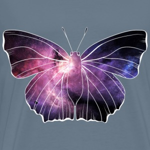 Galaxy in butterfly - Men's Premium T-Shirt