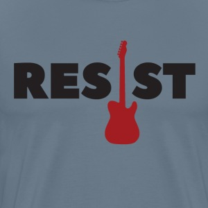 Resist Electric Guitar - Men's Premium T-Shirt