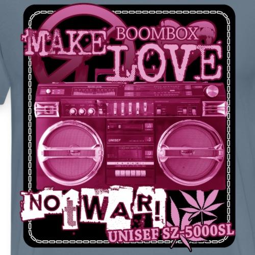Boombox UNISEF SZ 5000SL Ghettoblaster - Men's Premium T-Shirt