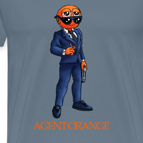 Agent orange - Men's Premium T-Shirt