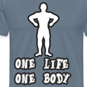One Life - Men's Premium T-Shirt
