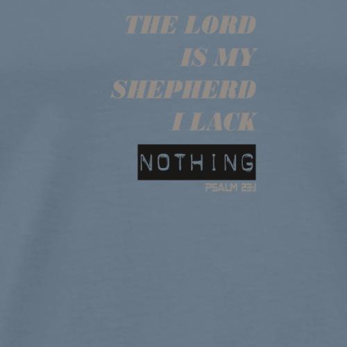 The Lord is My Shepherd - Men's Premium T-Shirt