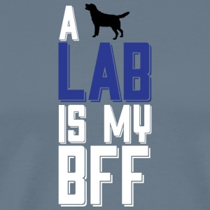 A LAB Is My BFF T Shirt - Men's Premium T-Shirt