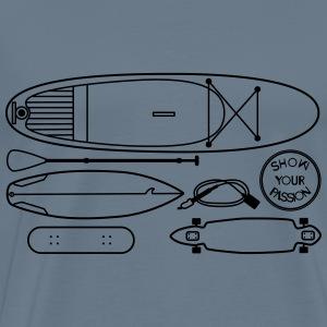 Boards Boards Boards - Men's Premium T-Shirt