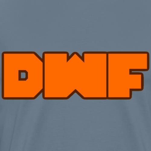 DWF Logo (orange) - Men's Premium T-Shirt