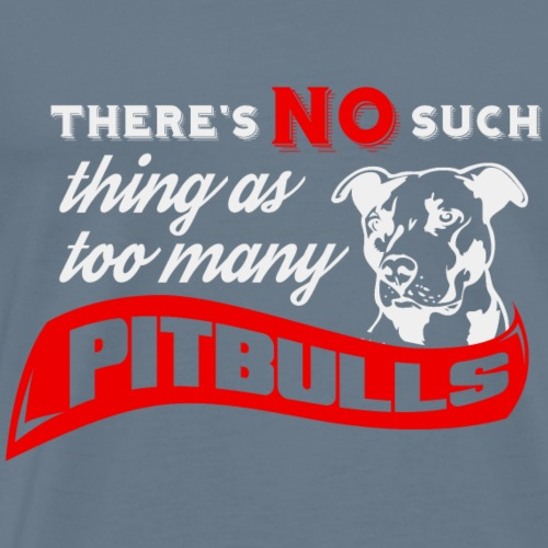 pitbulls - Men's Premium T-Shirt