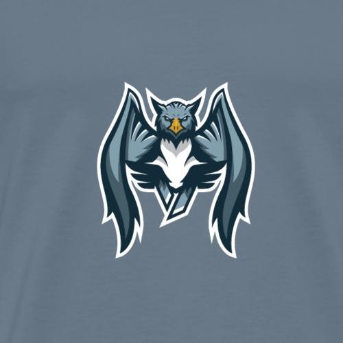 Mascot with logo stroke Vinturnity - Men's Premium T-Shirt