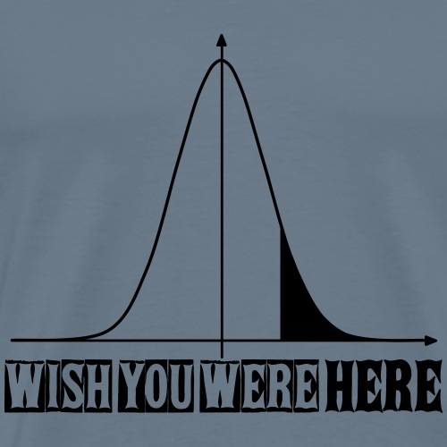 Wish you were here - Men's Premium T-Shirt