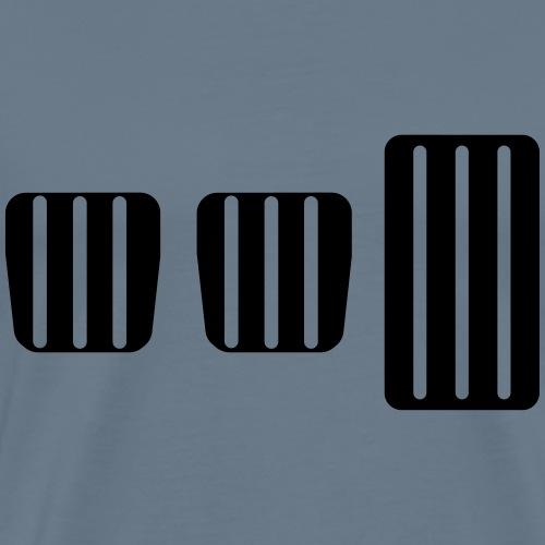 Pedals With Clutch - Men's Premium T-Shirt