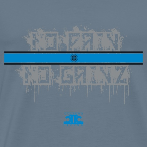No Pain No Gainz Blue - Men's Premium T-Shirt