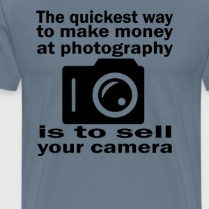 Photography Money - Men's Premium T-Shirt