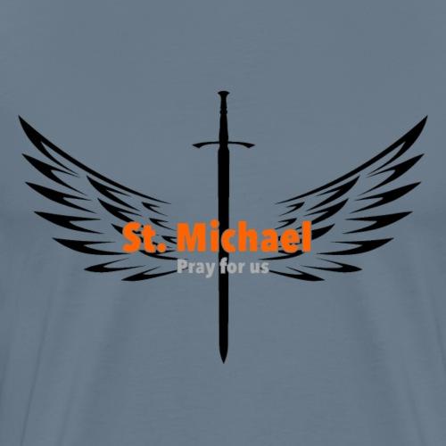 St. Michael Archangel - Men's Premium T-Shirt