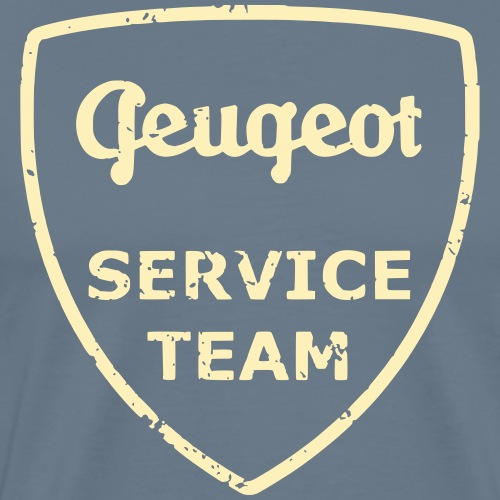 pug service team by GusiStyle - Men's Premium T-Shirt